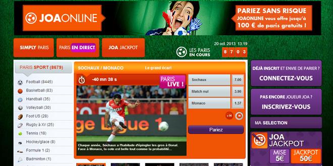 Avis JOA Online Sport