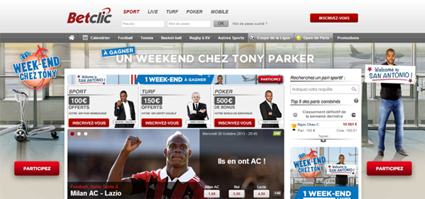 Parker consultant BetClic