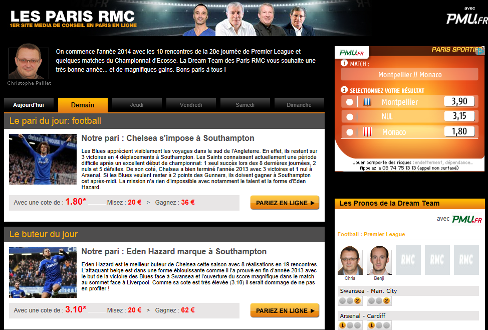 Prono RMC football
