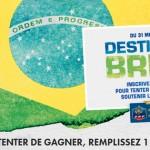 Le Brésil favori des français