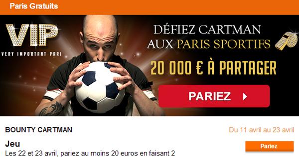 PMU : Défi Cartman, Ligue des Champions 2014