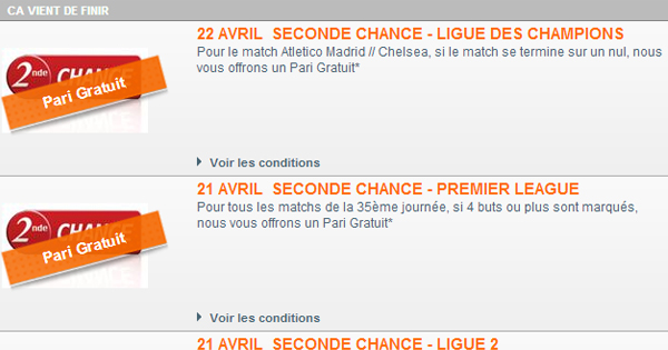 Seconde Chance PMU : Le penalty
