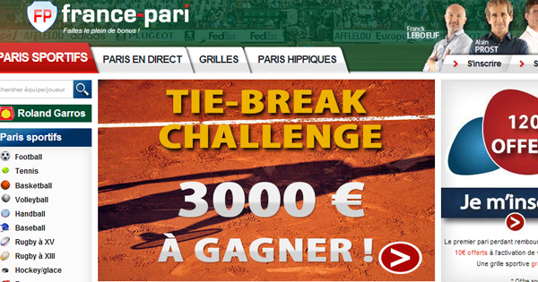 France Pari : Tie Break Challenge, Roland Garros 2014