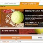 PMU : Seconde Chance Roland Garros 2014