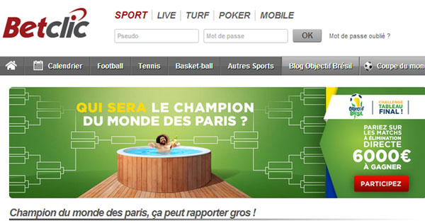 BetClic : Champions du Monde