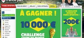 France Pari : Challenge Coupe du Monde 2014