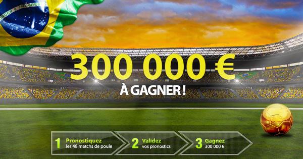 Netbet : Concours poule (Jackpot Brésil)