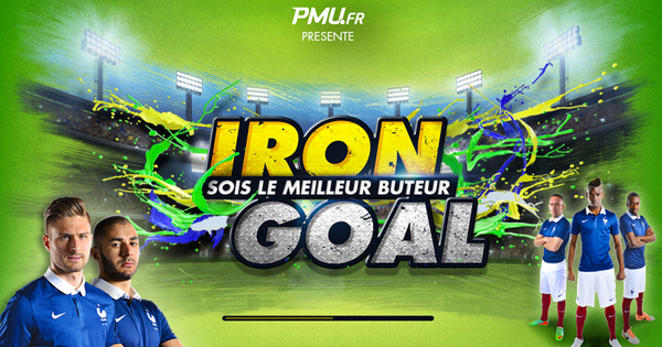 PMU : Iron Goal, tirs aux buts Mondial 2014