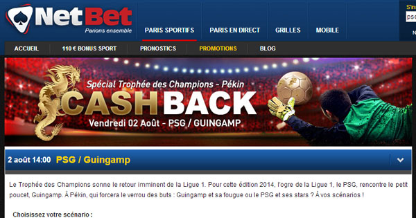 Jeux Netbet football