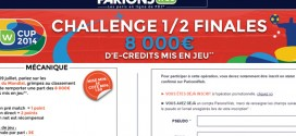 Concours demie finale du Mondial : PMU, ParionsWeb et BetClic