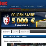 Netbet Golden Barre : Lille - Montpellier