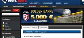 Netbet Golden Barre : Lille - Montpellier