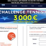 ParionsWeb : Challenge tennis USA