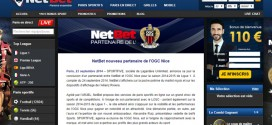 Netbet, partenaire de l'OGC Nice