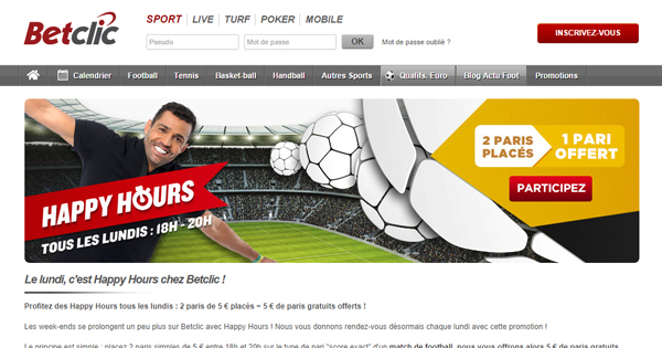 Happy Hour BetClic