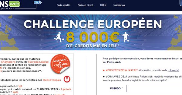 ParionsWeb lance un challenge européen