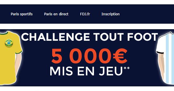 5000€ à gagner chez ParionsWeb
