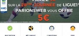 5€ de bonus sur la Ligue 1