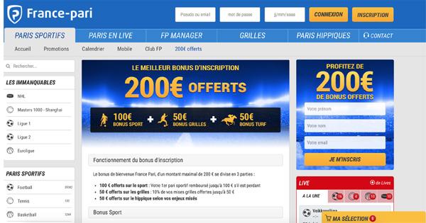 Bonus-France-Pari