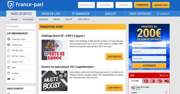 Promotion France Pari