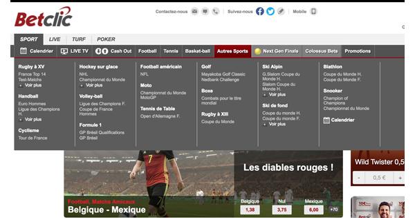 Calendrier Betclic.Le Choix De Paris Sportifs Chez Betclic Est Il Assez Large